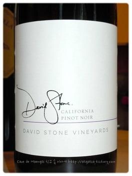 평범한 음식과 가볍게 즐길 수 있는 레드 와인 - David Stone Pinot Noir NV