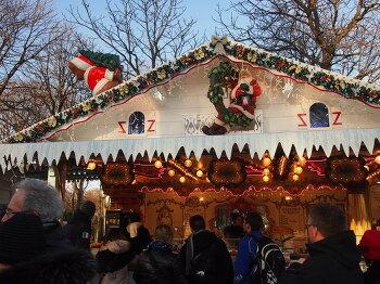 파리, 샹젤리제에 열린 크리스마켓