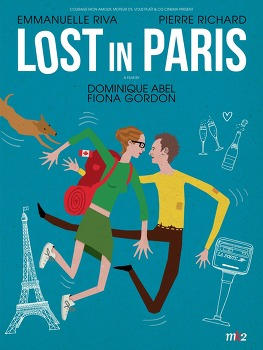 로스트 인 파리 (Paris pieds nus, Lost in Paris, 2016)