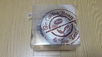 작아서 좋은 케이크, 커피빈 쁘띠 까망베르 치즈케이크.