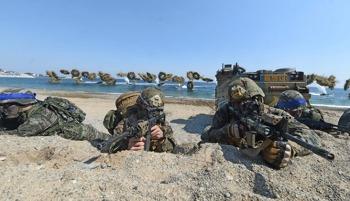 한미 연합훈련 본격화… 미 전략자산 대규모 전개