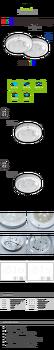 코지룩스 LED 센서등 LED 직부등 15W원형 센서등/계단등/복도등/주차장등/베란다등/화장실등