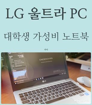 대학생 추천 13인치 가성비 노트북! LG 울트라 PC 13UD370