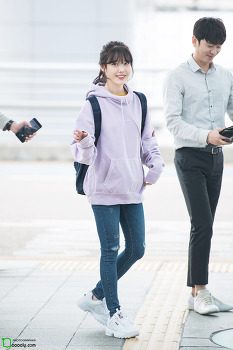 [2017.10.07] 인천공항 출국 아이유