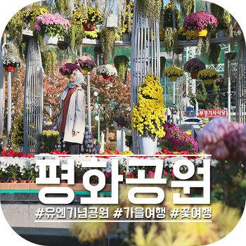 """부산 여행코스, 꽃 같은 가을여행지 """"평화공원"""""""