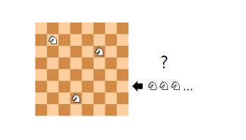 체스 최대배치문제 - 나이트편