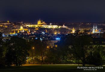 체코 프라하 여행, 프라하 야경 명소 ' 리에그로비공원 (Riegrovy Sady) '