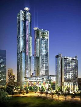 여의도 파크원 페어몬트 앰배서더 서울 호텔 Parc1 Fairmont Hotel