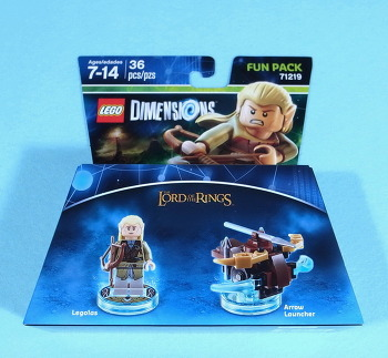 #083-71219-디멘션즈-Lord Of The Rings Legolas Fun Pack