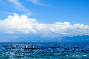 스위스 렌트카 여행, 제네바 호수 풍경을 즐길 수 있는 글렁(Gland) 과 홀르(Rolle)