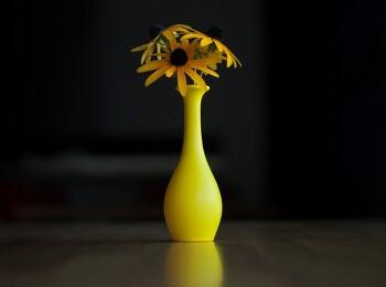 풍선 + 물 = 꽃병