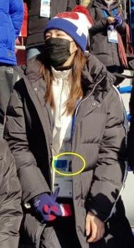 평창에서 난리난 김연아 AD카드 증명사진