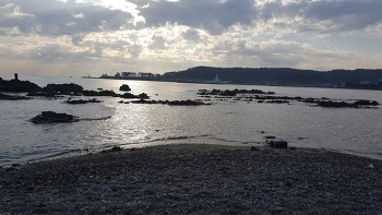 해파랑길 3, 4코스 일광해수욕장에서 진하해수욕장까지 걷다.