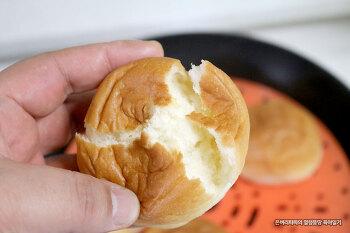 냉동된 모닝빵 빠른시간에 원래대로 해동하는 법~!