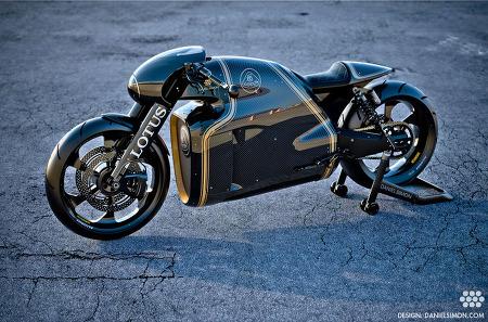 로터스 C-01 놀라운 이륜자동차 디자인의 세계