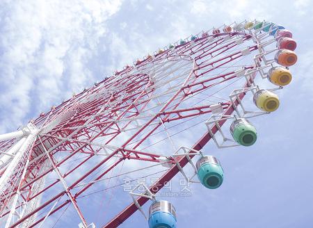 일본 도쿄 자유여행 3일차 - 오다이바 팔레트타운 대관람차&도요타전시장과 비너스포트