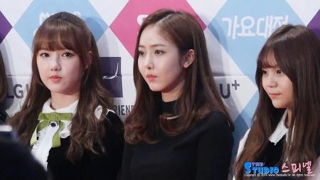 161226 SBS 가요대전 레드카펫 여자친구 신비 직캠 by 스피넬