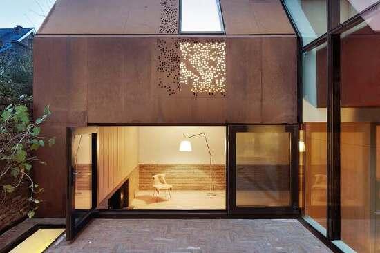*내후성강판을 이용한 런던주택-[ Piercy&Company ] Kew House