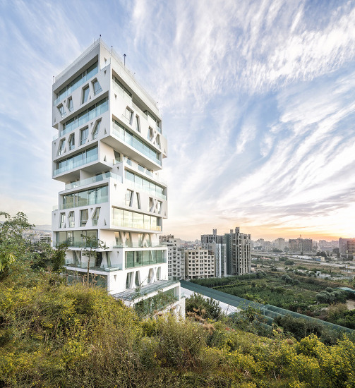 *레바논 베이루트 아파트-[ Orange Architects ] The Cube