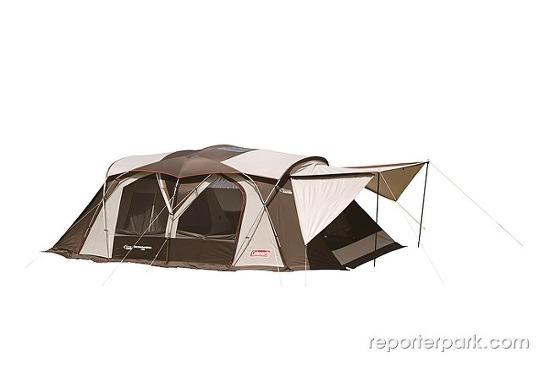 콜맨, 텐트 2종 출시… '2015 아테나 시리즈, 웨더마스터 와이드 2룸 코쿤 II'