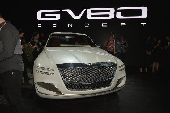 제네시스 GV80 콘셉트(GV80 Concept) + 2017 뉴욕 오토쇼 출품작