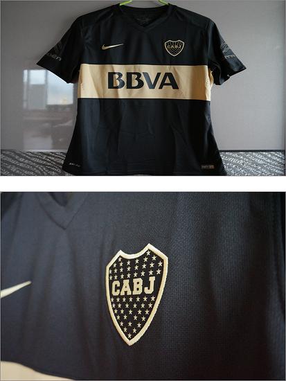 2016 Boca Juniors Third Player Issue Shirt S/S