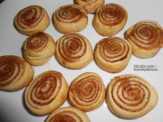 울집 아이들이 만든 한입 크기 시나몬 롤 쿠키 Cinnamon Roll Cookies