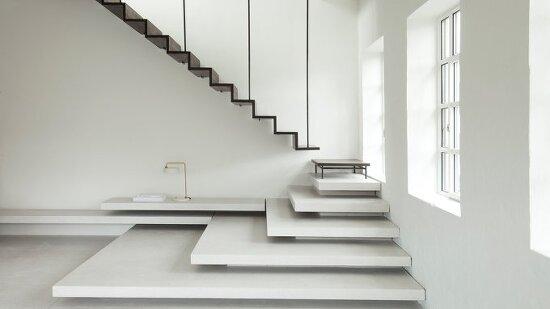 *계단을 통해 층의 구분을 분명히 한 아파트 개조-[ Jac Studios ] renovation of the Sturlasgade apartment
