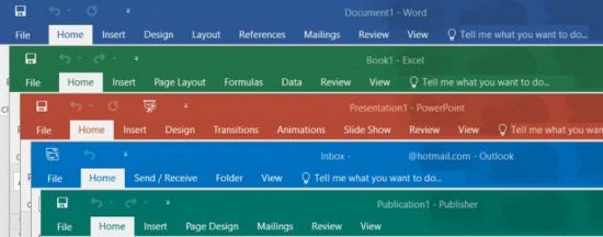 Microsoft Office 2019(오피스 2019), 윈도우 10 이상에서 이용 가능.