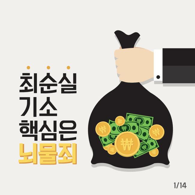 [박근혜-최순실 시리즈 ⑨] 검찰 수사의 핵심은 '뇌물죄'다