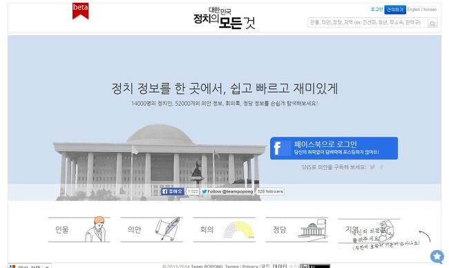 Politics in Korea - 대한민국 정치정보 사이트