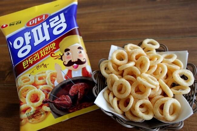 [신제품] 한입에 쏘옥~ 농심 미니 양파링 탄두리 치킨맛 출시!