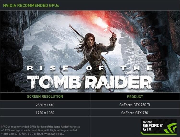 라이즈 오브 더 툼레이더 PC 사양