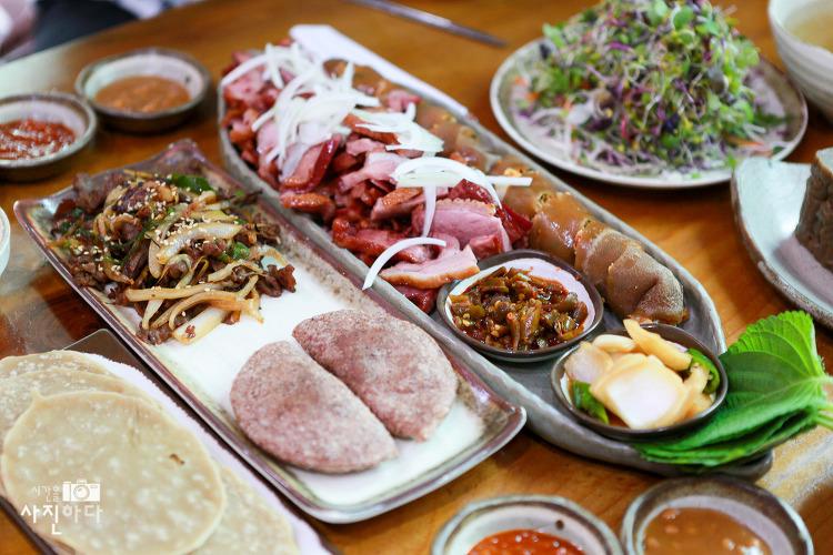 [내맘대로 맛집 - 포천맛집, 고모리맛집] 도토리묵 정식, 대대손손 묵집