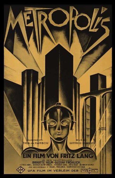 메트로폴리스(Metropolis)... 프리츠 랑, 구스타프 프뢸리히, 브리기트 헬름... 1920년대 무성 흑백 SF 영화의 레벨이란
