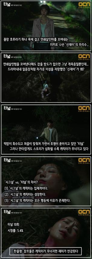 터널 10회: '중2병' 된 이유영, 왜 무리수일까?