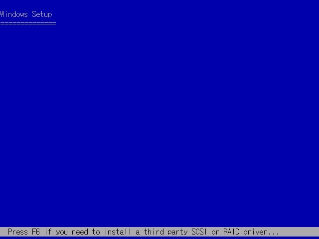 XP 포맷 설치하기 - EDITION