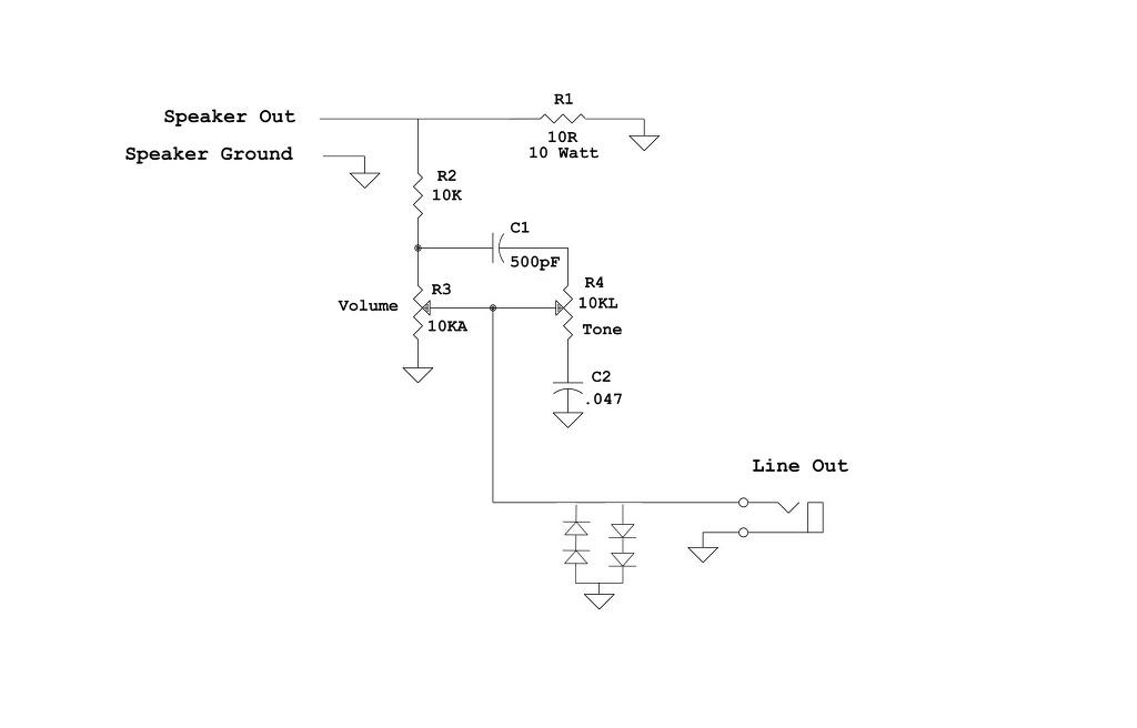 diy guitar amp weber dummy load line out box. Black Bedroom Furniture Sets. Home Design Ideas