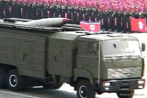 북한의 KN-02 단거리 탄도 미사일