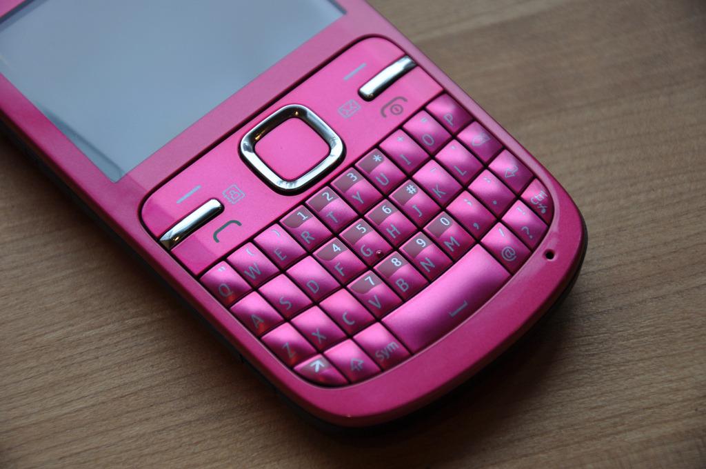 플리커 사용자 baggynou님의 사진 Nokia C3 pink