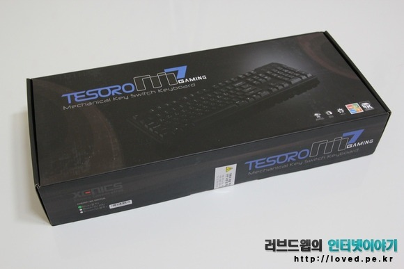 제닉스, 키보드, 제닉스 키보드, 제닉스 기계식 키보드, 기계식 키보드, 게이밍, 게이밍 키보드, Tesoro M7 , Tesoro M7 Gaming, Tesoro M7 Gaming Blue