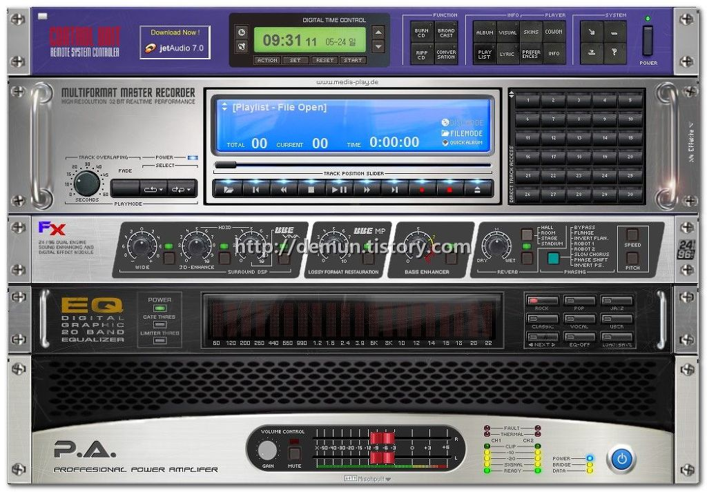 Download jetAudio Plus VX latest free version