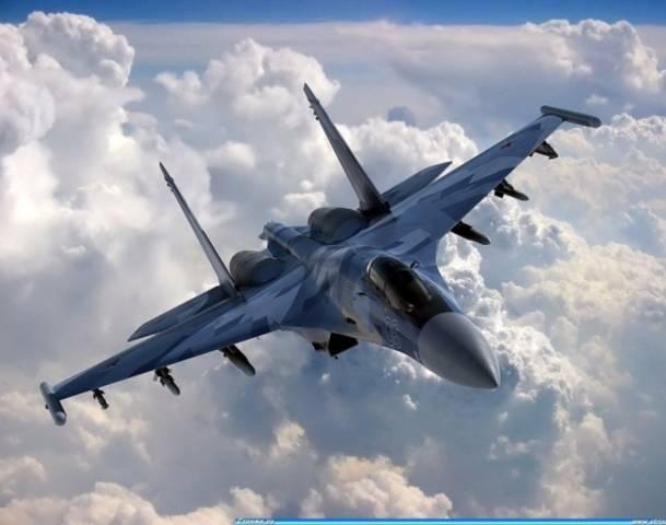 SU-35 전투기