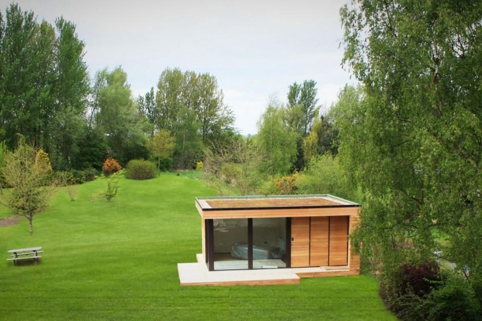 Contemporary Backyard Studios : init studios ] Contemporary Garden Studios  5osA [??]