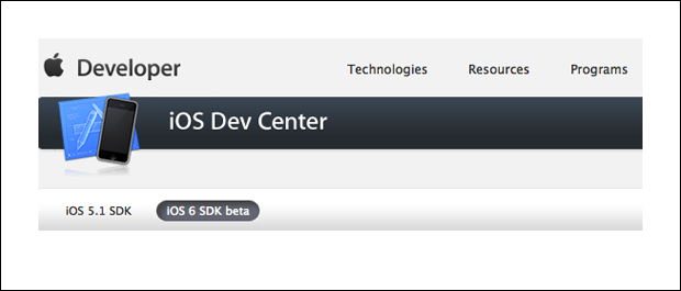 Xcode 4.5 DP3 / iOS6 SD beta 3