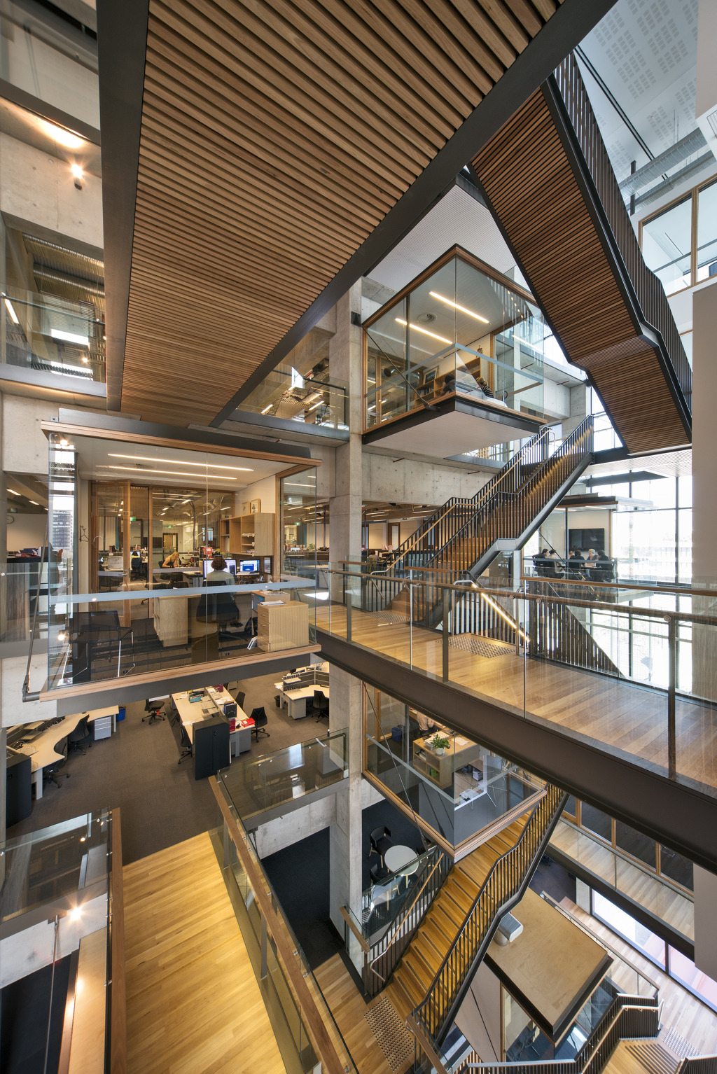 Bvn architecture the kinghorn for Office design victoria