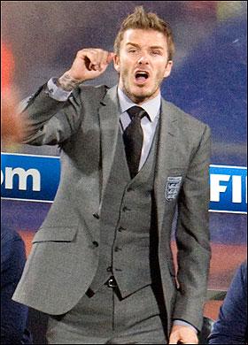 베컴, 토요일 벤치에서 경기를 보며 3 라이언즈의 팬이 된 아픔을 맛보다.
