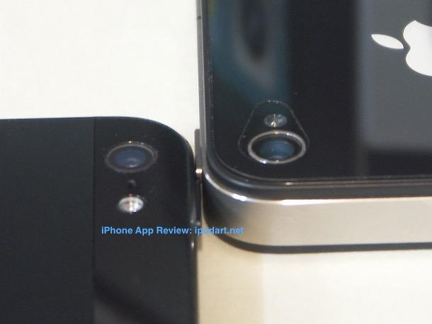 아이폰5 아이폰4 카메라 비교