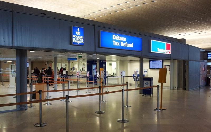 파리 샤를드골공항 면세 신고 장소 ( Détaxe / Tax Refund)