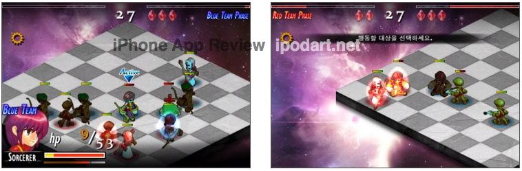 아이폰 SRPG 게임 Rebirth of Fortune